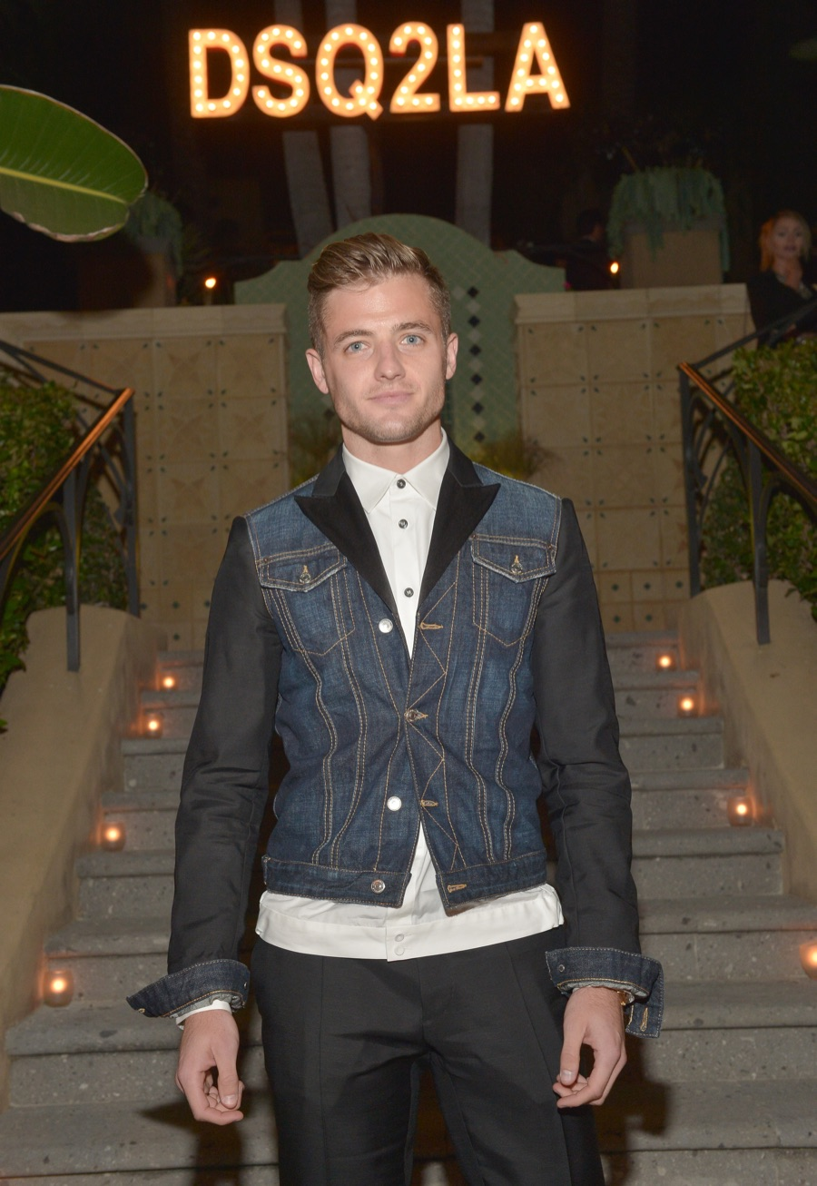 Alexander Ludwig, Noah Mills, Robbie Rogers + More Celebrate Dsquared2 Rodeo Drive Boutique Opening
