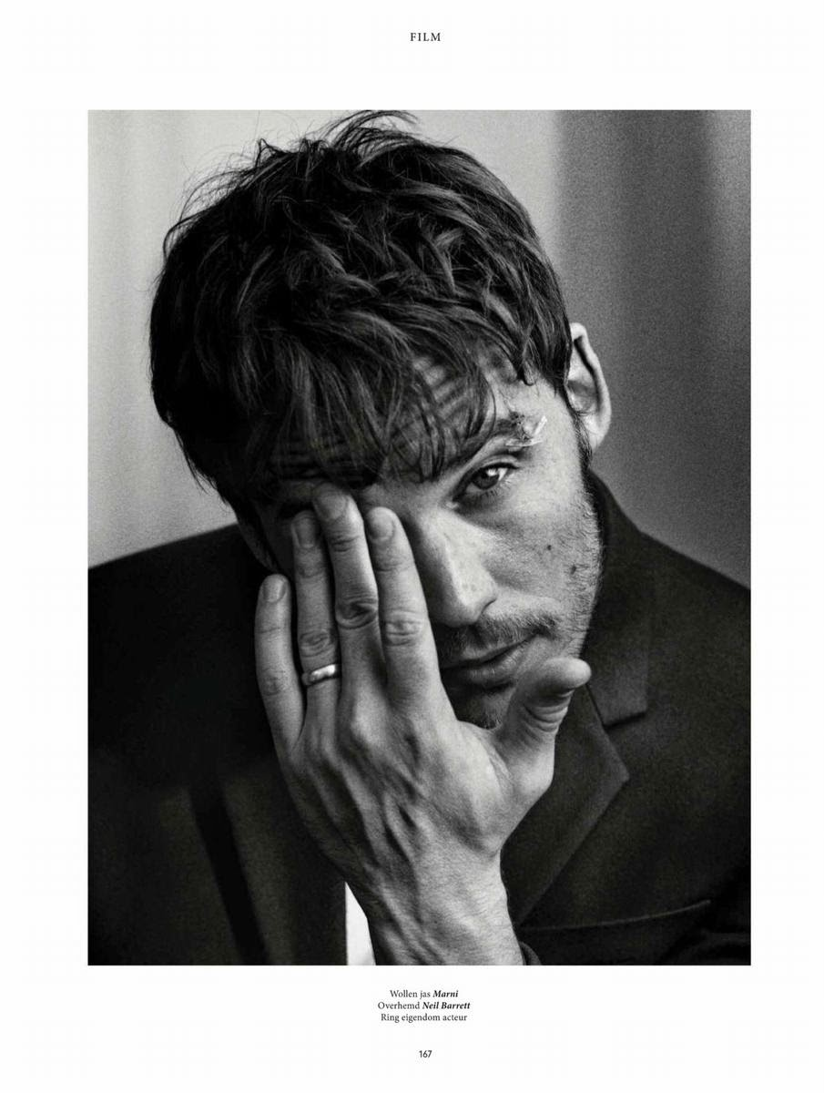 Sam Claflin Photo Shoot for L'Officiel Hommes NL Fall/Winter 2014