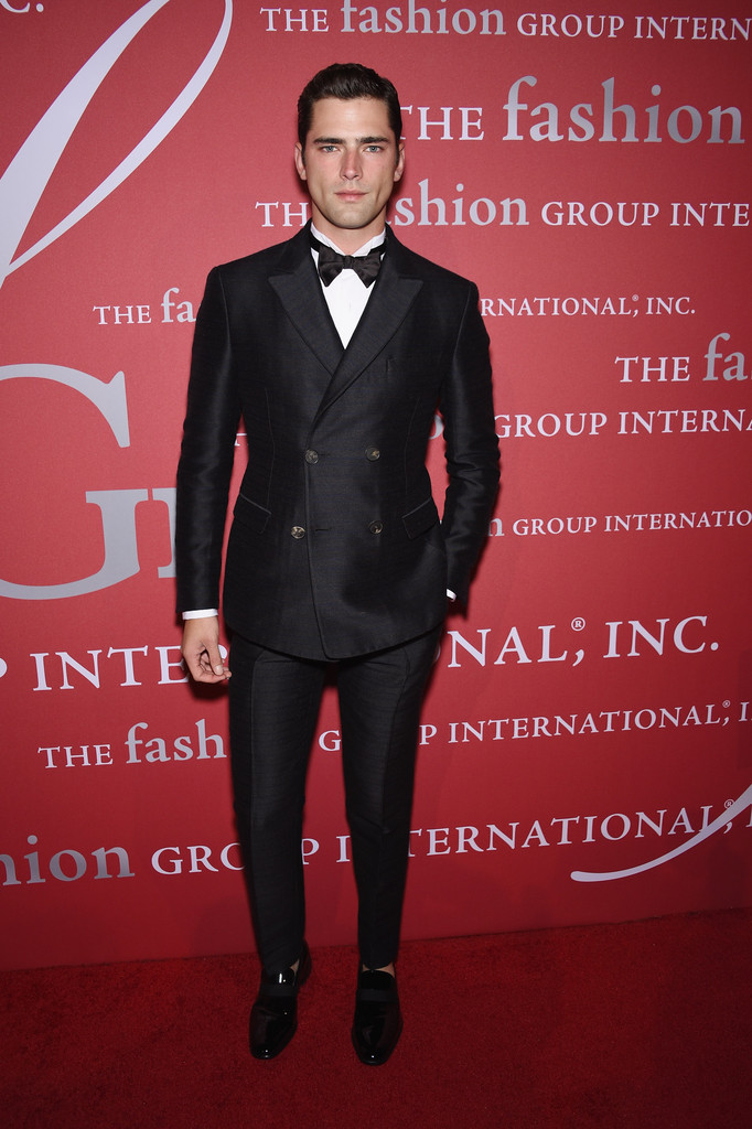Sean O'Pry is Dapper in Salvatore Ferragamo for Fashion Group International Night of Stars Gala