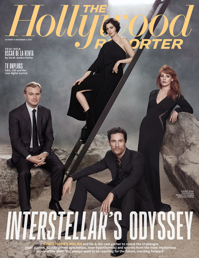 Matthew McConaughey, Christopher Nolan + More Cover The Hollywood Reporter