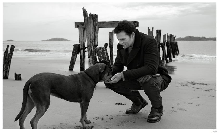 Tom Brady Joins Dog Lua for 'Down Time' UGG Campaign Video
