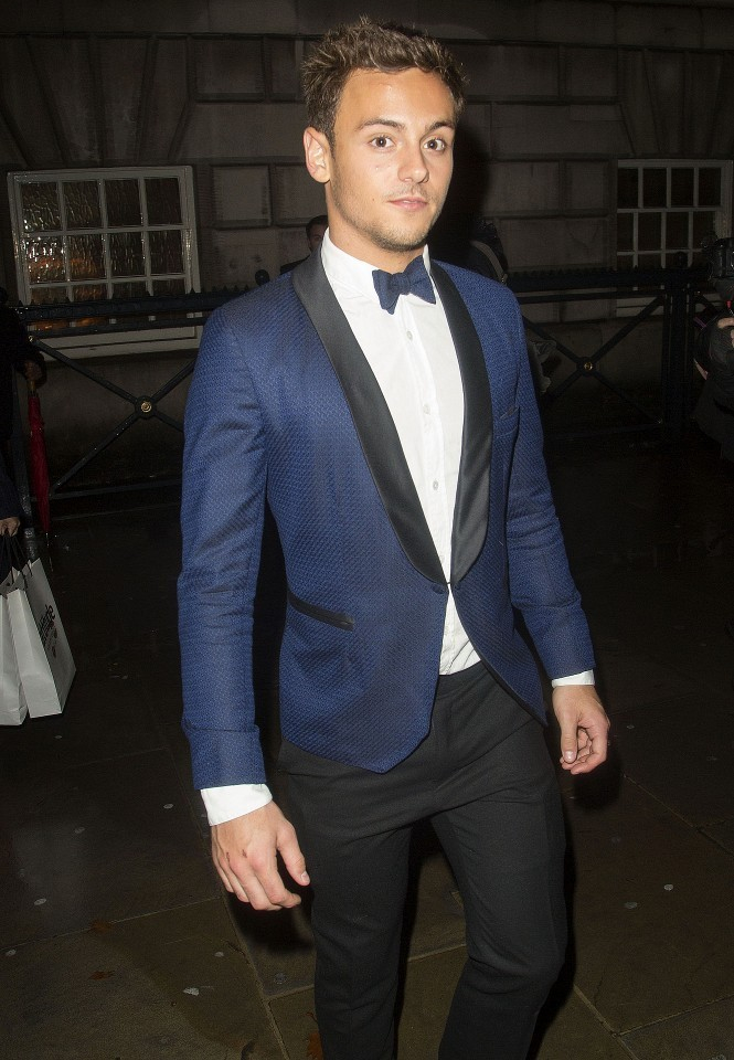 Tom Daley Cleans Up In Navy Tuxedo For Attitude Magazine