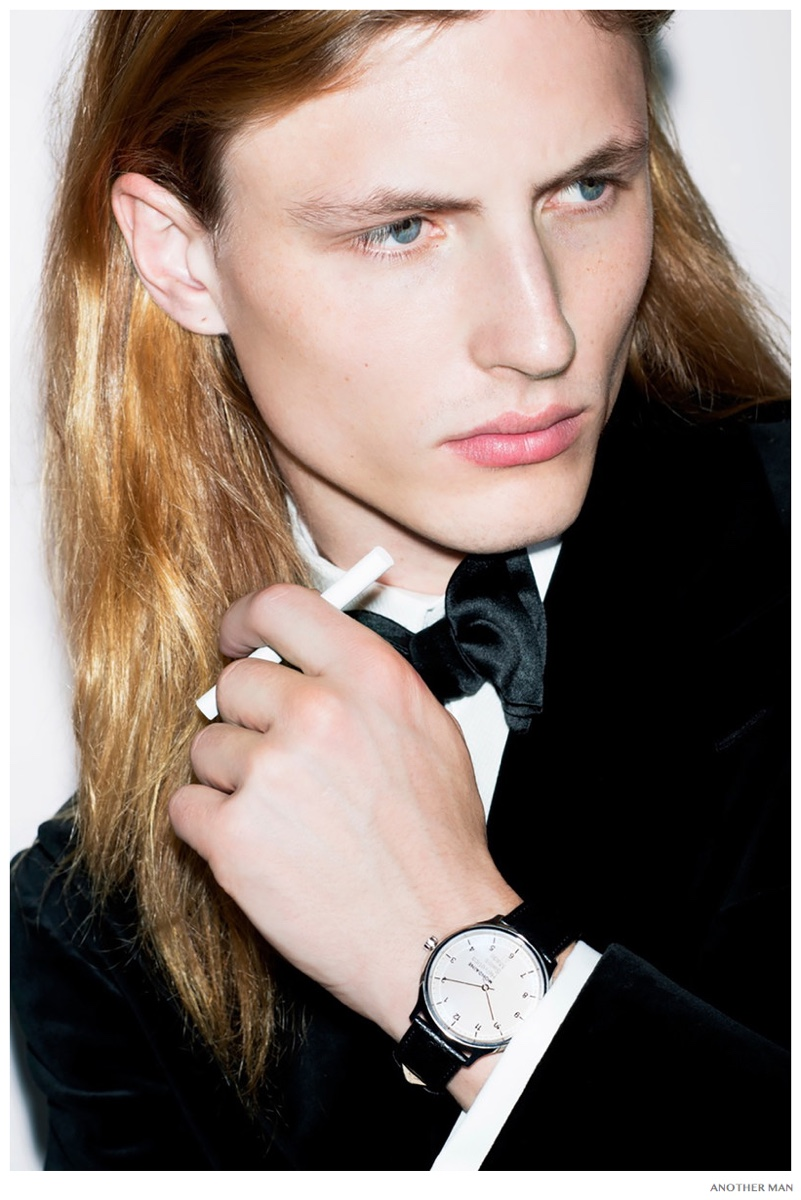 Viggo Jonasson Dons Luxe Timepieces for AnOther Man