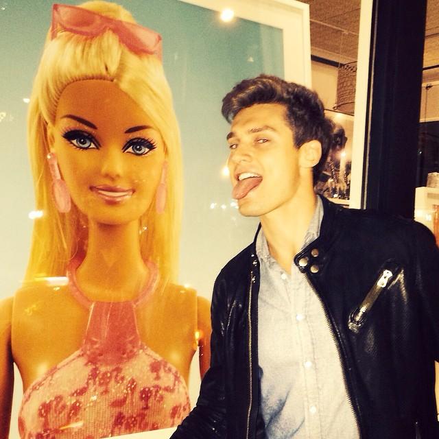 Vladimir Ivanov meets the woman of his dreams.