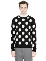 AMI Polka Dot Sweater