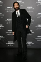 A striking vision in head to toe Dolce & Gabbana, actor Adrien Brody impressed as went out to celebrate the 2015 Pirelli Calendar on November 18th in Milan, Italy.