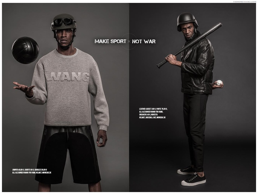 Fashionisto Exclusive: Humberto Models Alexander Wang for H&M