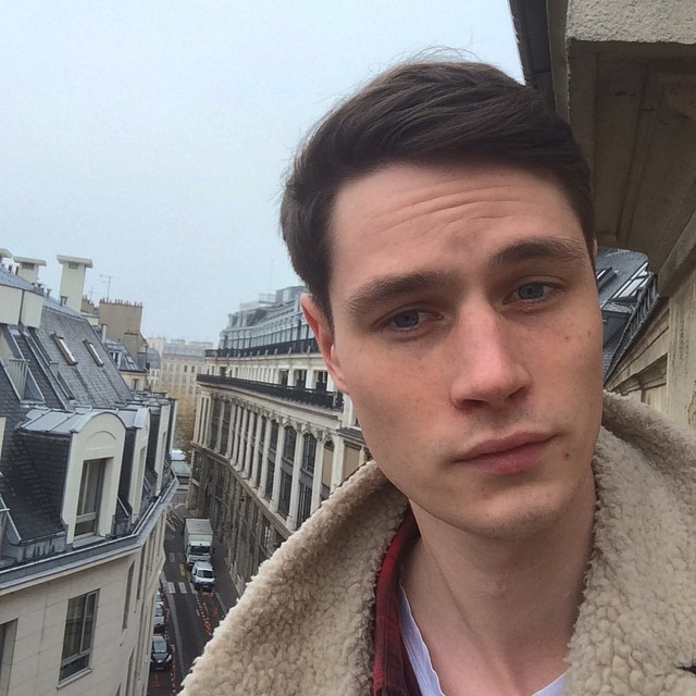 Andrew Westermann checks in from Paris fittings with Louis Vuitton