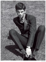 French model Arthur Gosse proves his global value with new editorials in GQ Australia and GQ Spain. First up, Arthur connects with photographer Philip Gay and fashion editor Wayne Gross for a smart spread inspired by the Melbourne Cup. Hitting the field, Arthur charms in looks from labels that include Dior Homme, Giorgio Armani and Tom Ford.