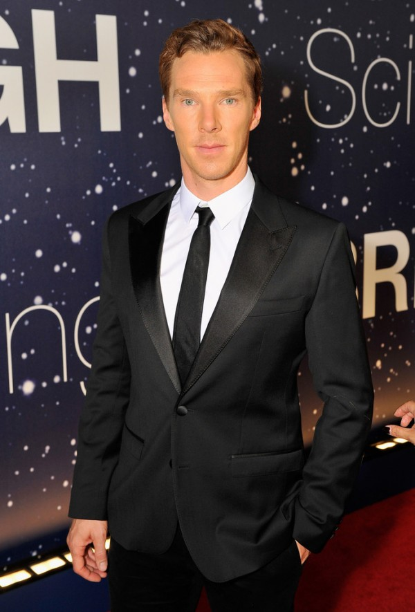 Benedict Cumberbatch served up a dashing evening look in traditional black for the Breakthrough Prize Awards Ceremony at the NASA Ames Research Center in Mountain View, California on November 9th.