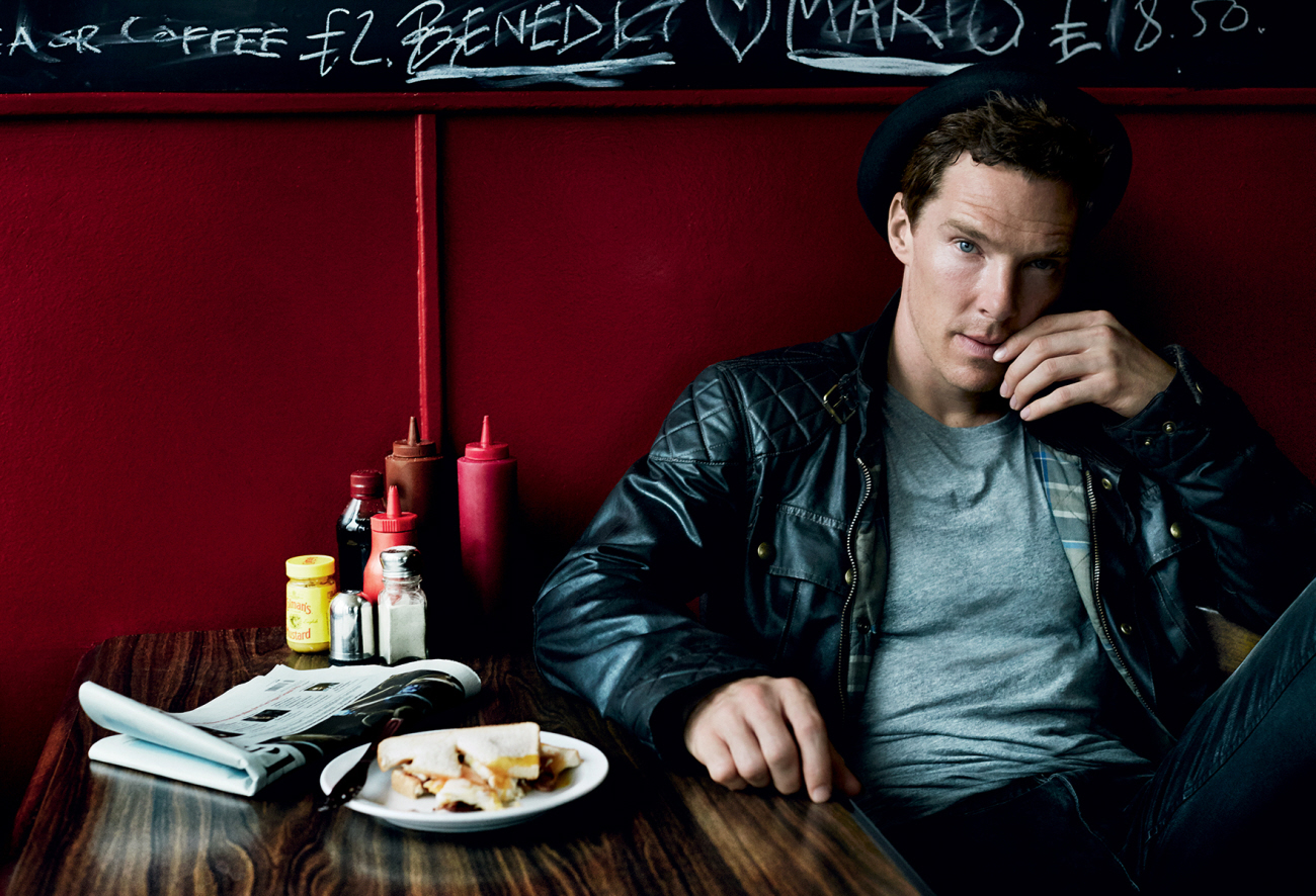 Benedict Cumberbatch Talks Fame in Vogue's December 2014 Issue