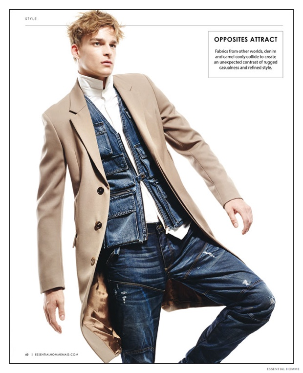 Camel Mens Fashions Get the Essential Homme Treatment