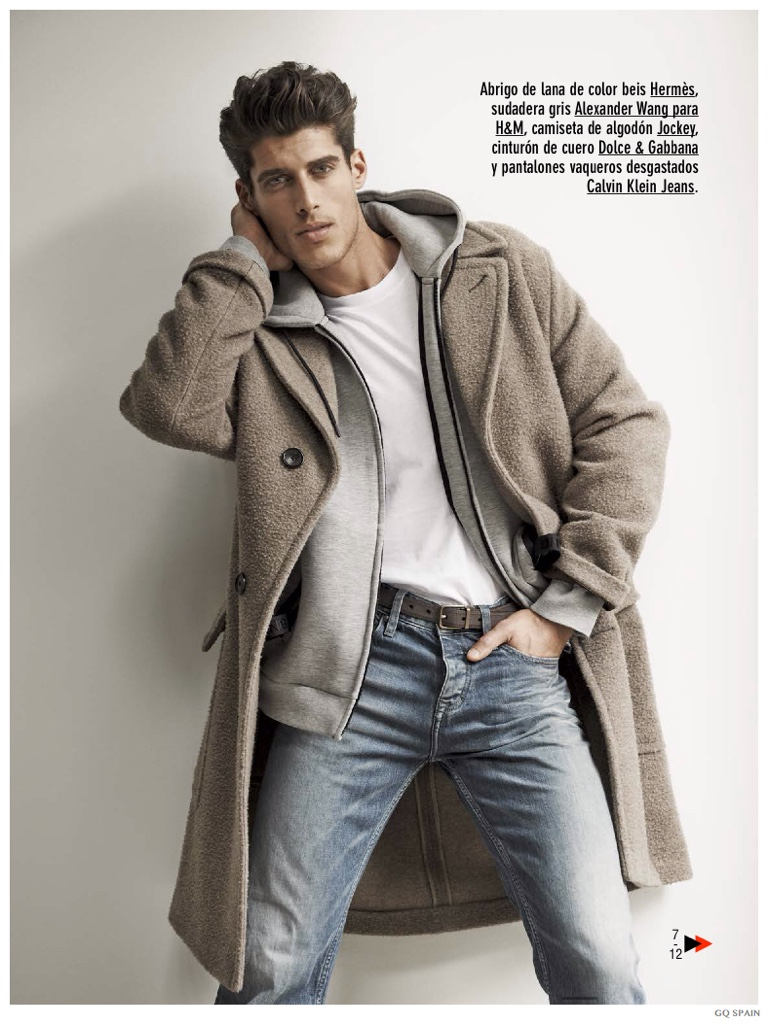 Oran Katan Models Joggers, Denim Jeans & Standout Coats for GQ España