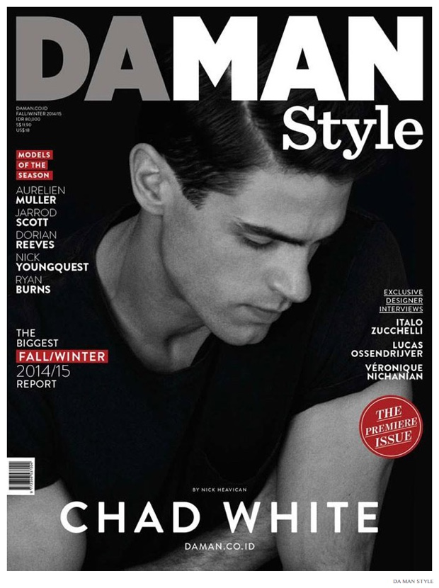 Chad White is All-American for Da Man Style Cover Photo Shoot