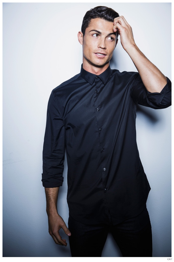 Cristiano Ronaldo Expands Cr7 With Shirts Poses For New