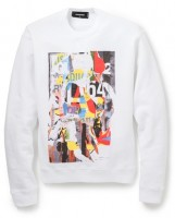Dsquared2 Collage Print Pullover