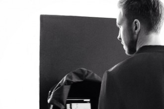 Taking to its official Instagram, Emporio Armani unveiled that it has tapped and producer and music artist Calvin Harris for a new campaign coming out soon. In a behind the scenes shot from the campaign, Harris is pictured with his back to the camera as he looks at an unclear image.