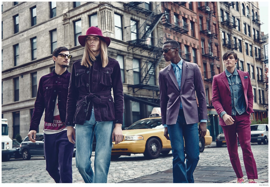 GQ Brasil Takes Early Look at Spring 2015 Trends