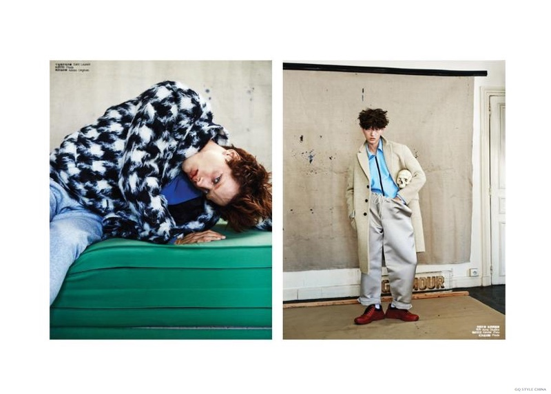 Sylvester Ulv & Jin Dachuan Bring a Fashionable Quirkiness to GQ Style China