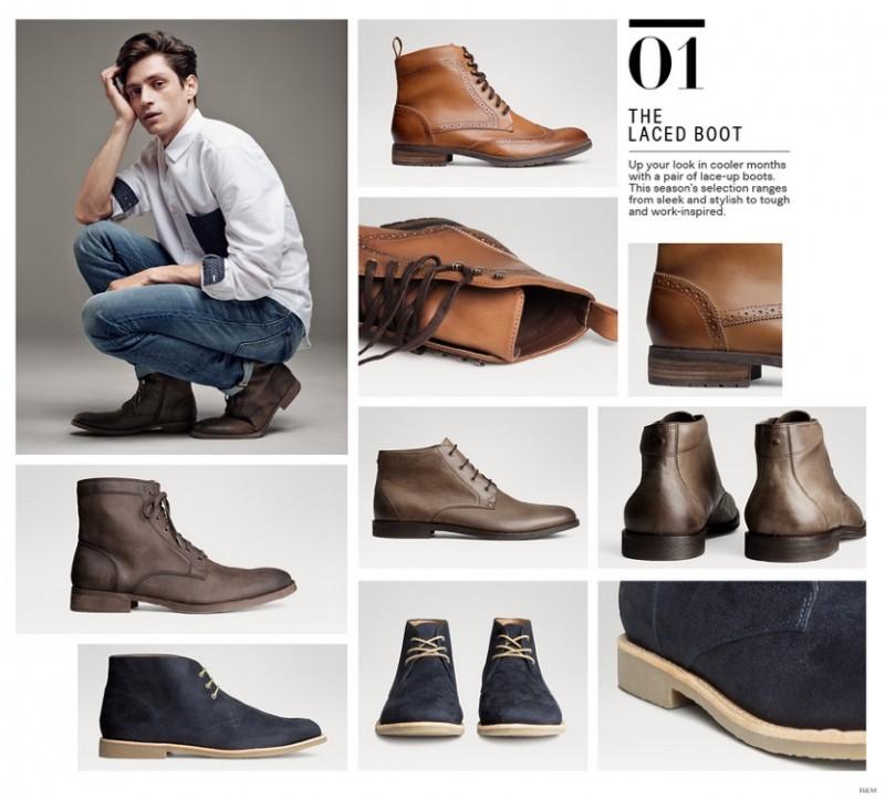 h m unveils men s shoes guide the fashionisto. Black Bedroom Furniture Sets. Home Design Ideas