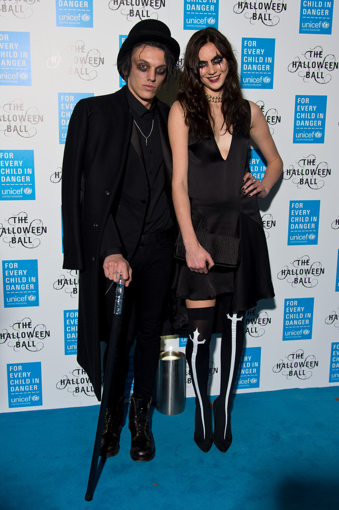 Jamie Campbell Bower Attends UNICEF Halloween Ball