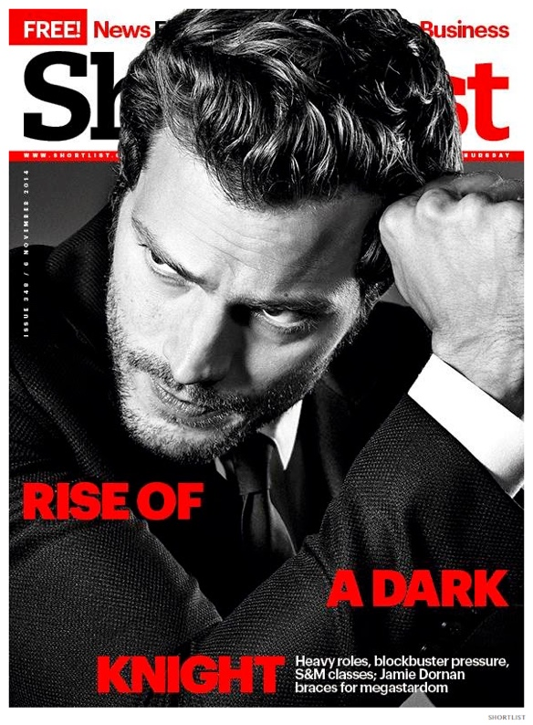 Jamie Dornan Covers ShortList, Talks S&M Training for Fifty Shades of Grey