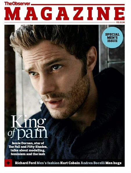 Jamie Dornan Covers The Observer Magazine November 2014 Issue