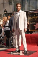 Receiving his star on the tourist must Hollywood Walk of Fame, Matthew McConaughey wore a light, relaxed three-piece number from Italian fashion house Dolce & Gabbana.