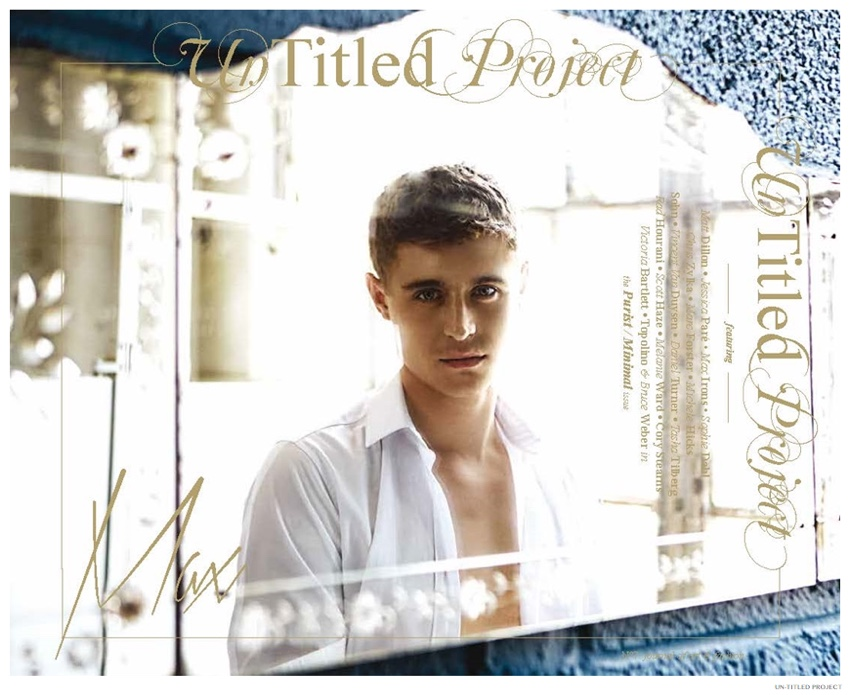 Max Irons Stars in Dreamy Un-Titled Project Cover Photo Shoot