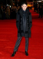 Attending the London premiere of 'Unbroken' on November 25th, actor and singer Miyavi turned heads. Hitting the red carpet in a phenomenal tailored look from Ermenegildo Zegna Couture, Miyavi layered in a graphic double-breasted coat with a versatile scarf, sharp, gray suit and smart polo shirt.
