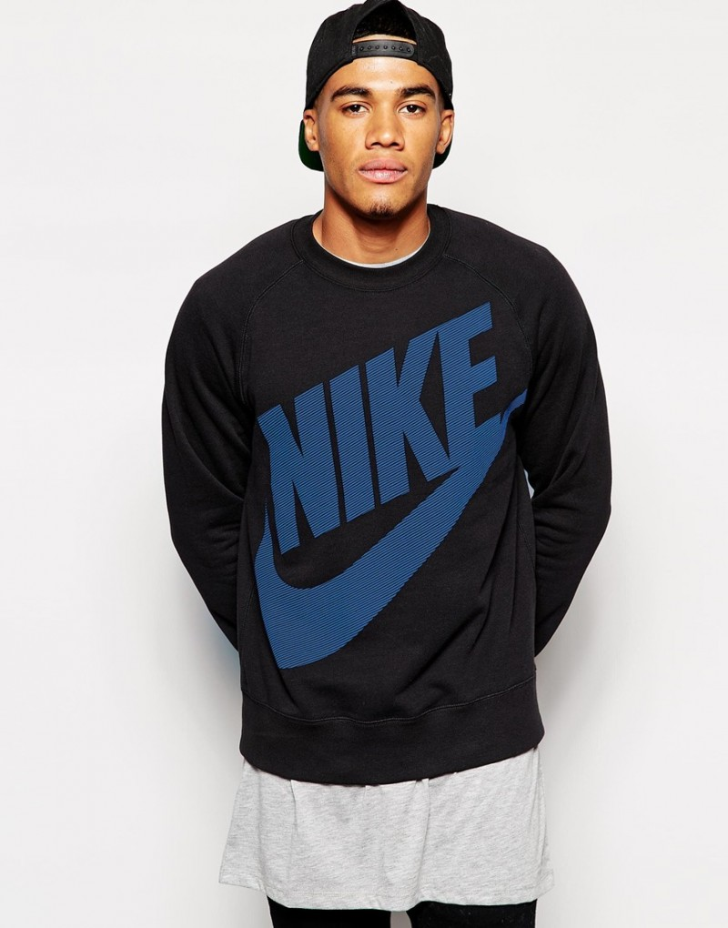 wholesale outlet factory outlet lowest price Harry Styles Spotted in Black Nike Sweatshirt at LAX | The ...