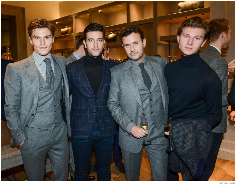 Gieves & Hawkes Celebrates Savile Row Flagship Relaunch