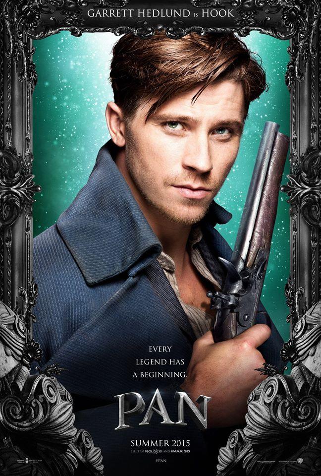 See Pan Movie Posters Featuring Hugh Jackman, Garrett Hedlund + More