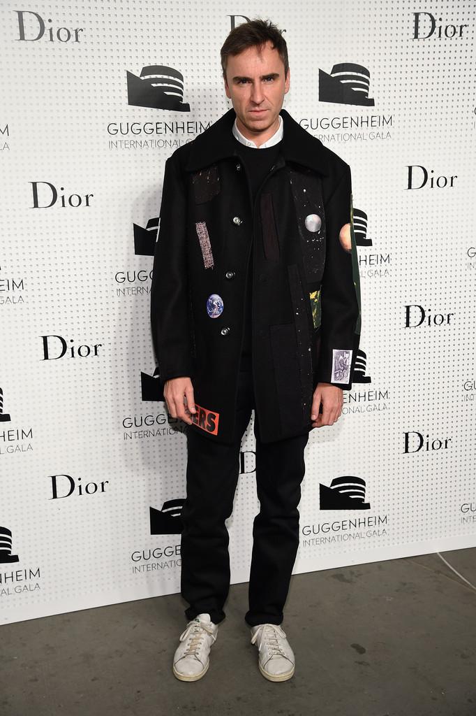 Dior womenswear creative director Raf Simons