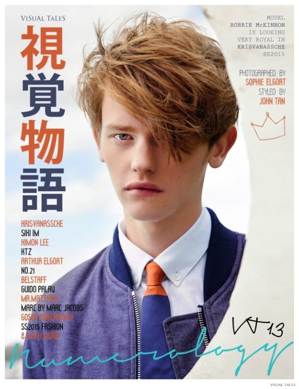 Robbie McKinnon Previews Spring 2015 Fashions for Visual Tales Cover Story