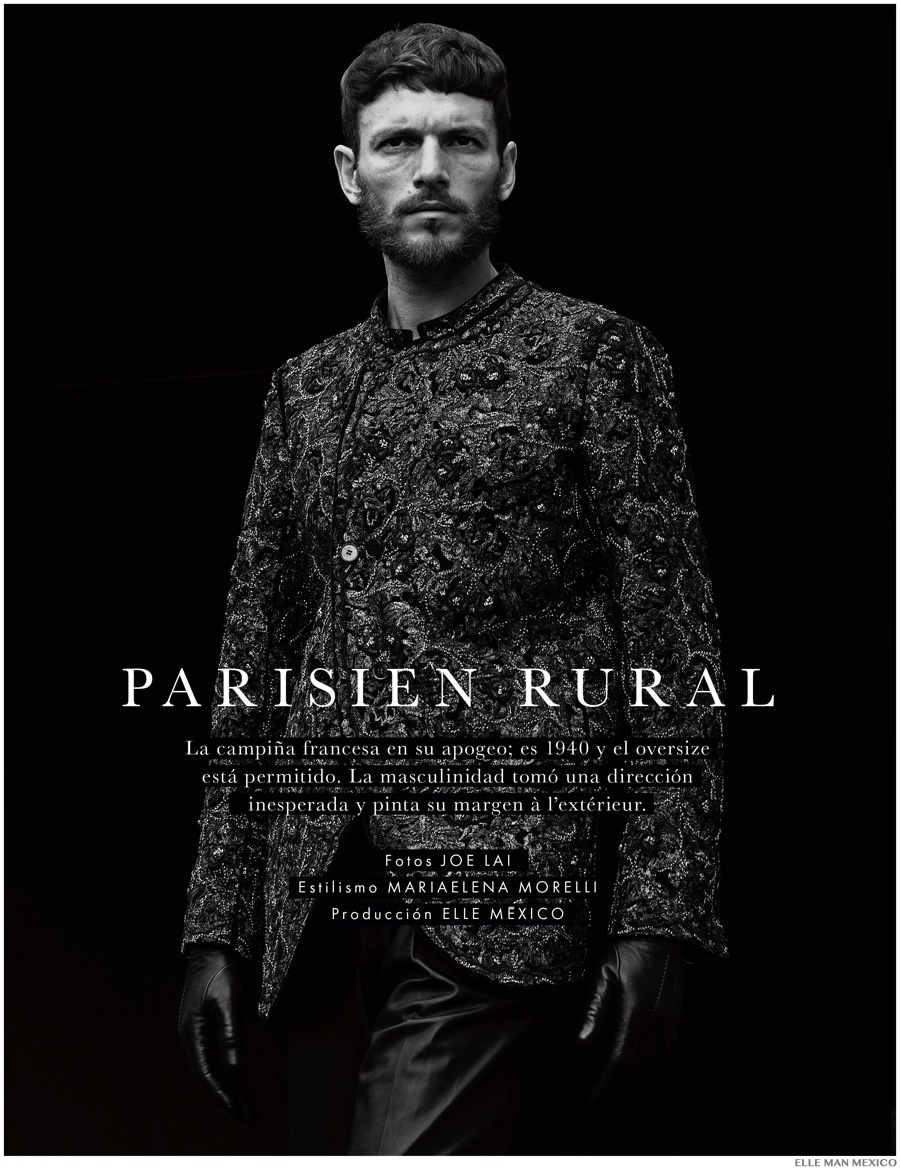 Parisien Rural: Ryad Slimani for Elle Man Mexico Cover Story