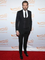 Stepping out to support a great cause, actor Ryan Reynolds was on hand for 'A Funny Thing Happened On The Way to Cure Parkinson's' at The Waldaorf Astoria on November 22nd. As usual, dressed to impress, Reynolds wore a three-piece suit, complete with a low-cut waistcoat from Italian label Dolce & Gabbana.