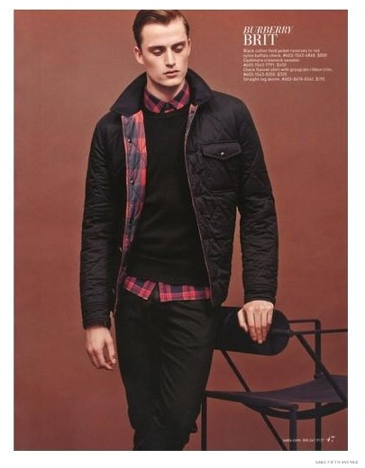 Saks Fifth Avenue Highlights Fall/Winter 2014 Men's Fashions