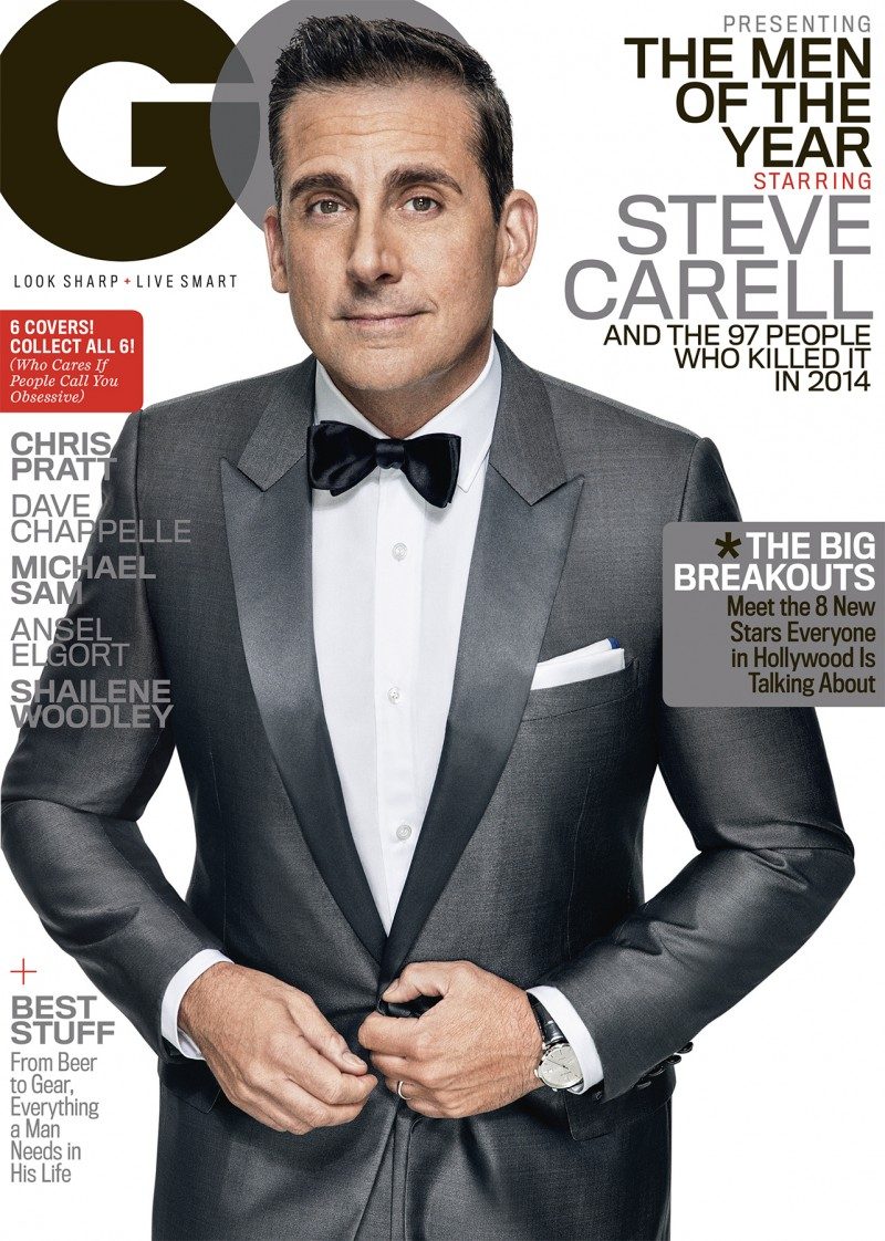 Steve Carell Covers GQ \'Men of the Year\' Issue, Talks Darkness & Humor