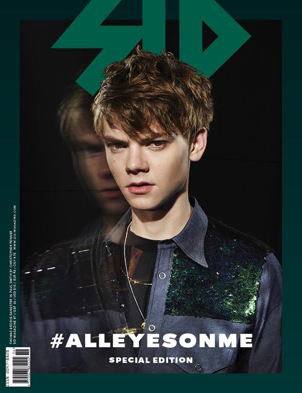 Thomas Brodie-Sangster, Callum Ball & Samuel Roberts Cover SID Magazine