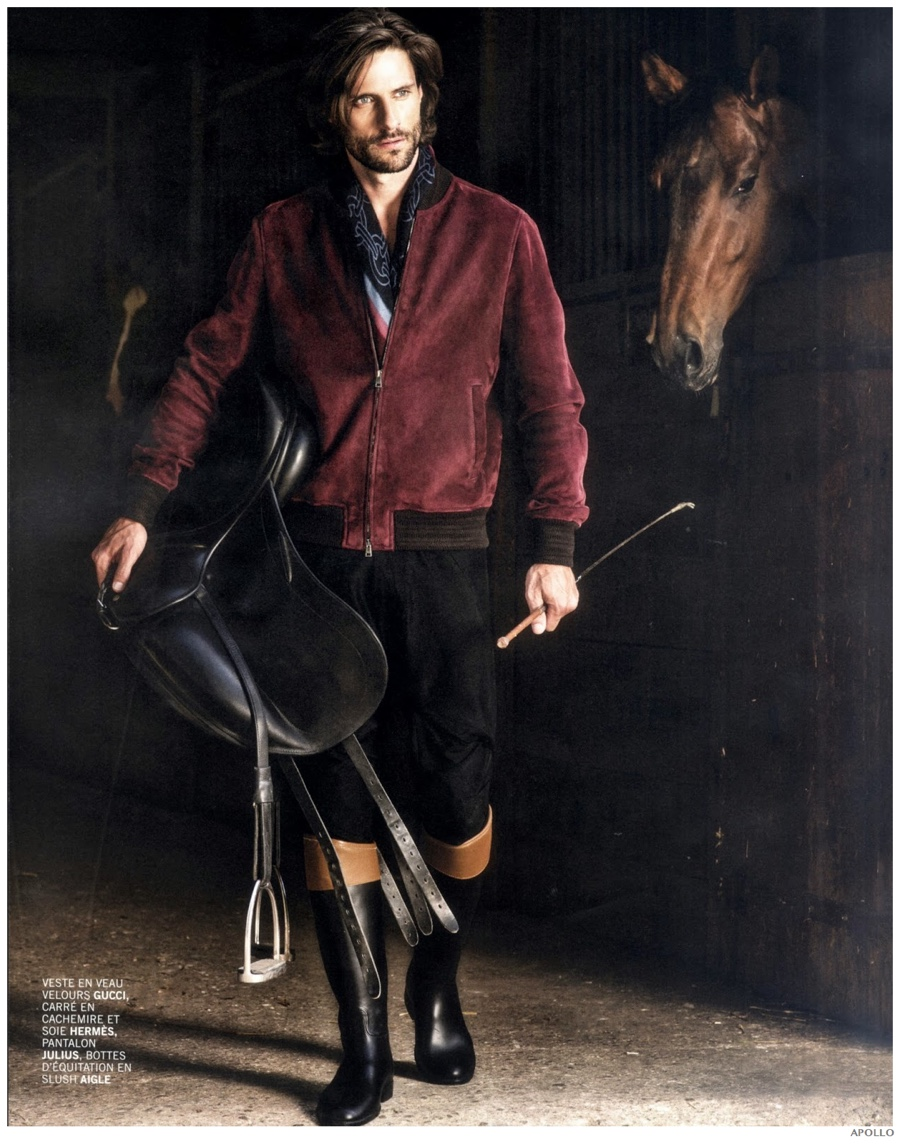 Country Escape: Tommy Dunn Embraces Equestrian Styles for Apollo