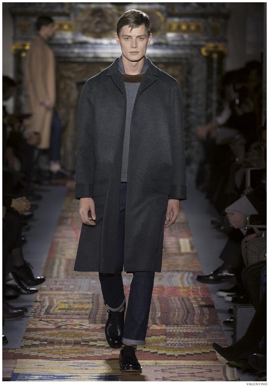 Valentino Presents Haute Couture Masculinity Fall/Winter 2014