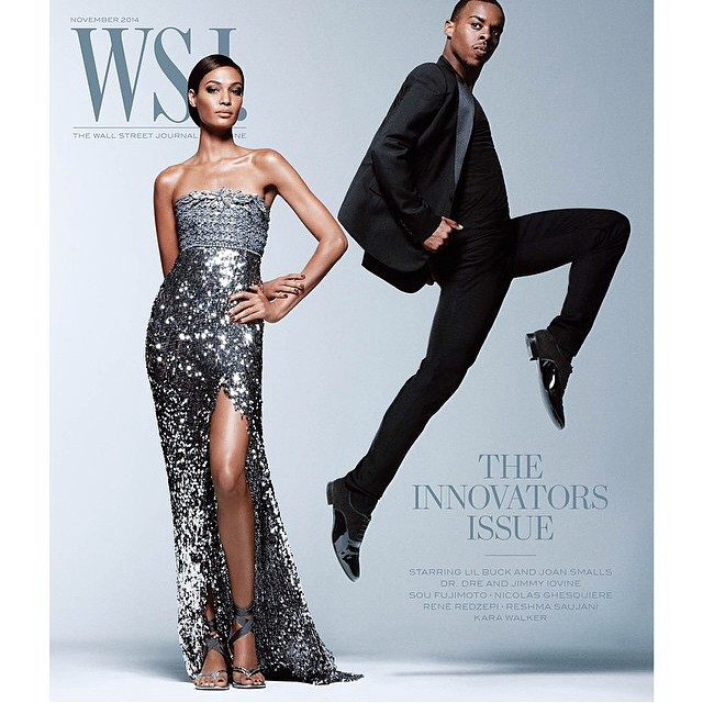 Lil Buck Covers WSJ November 2014 Issue