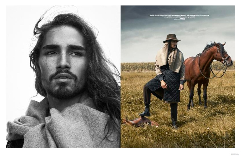 Wild Horses: Willy Cartier for DSection
