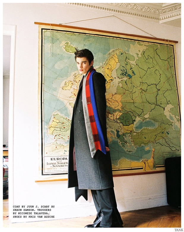 Alexander Ferrario Charms in Oversized Men's Fashions for Tank Shoot