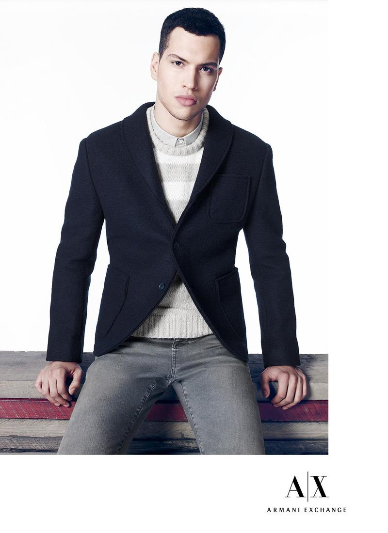 Armani Exchange Delivers Sporty & Smart Fall Fashions