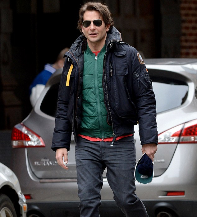 Bradley Cooper made a mad dash for the subway this past weekend as he rushed to