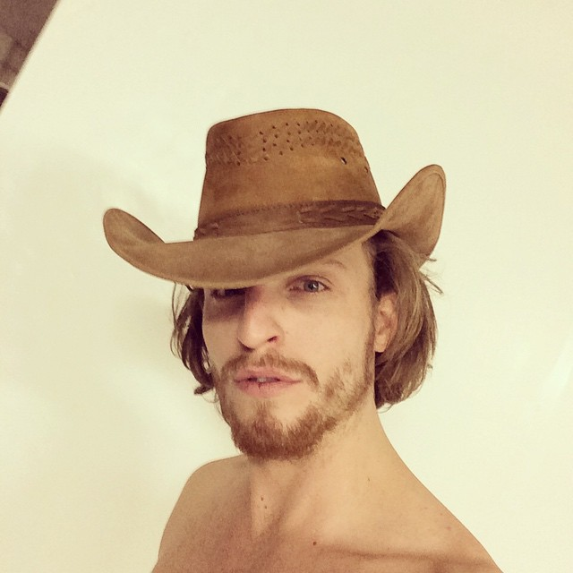 Brendon Beck has a western moment