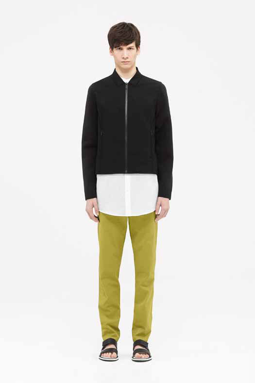 COS Embraces Sporty Aesthetic for Men's Spring/Summer 2015 Collection