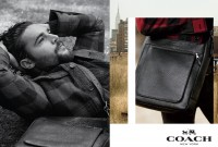 Actor Christopher Abbott photographed by Mikael Jansson and styled by Karl Templer for Coach's fall-winter 2014 advertising campaign.